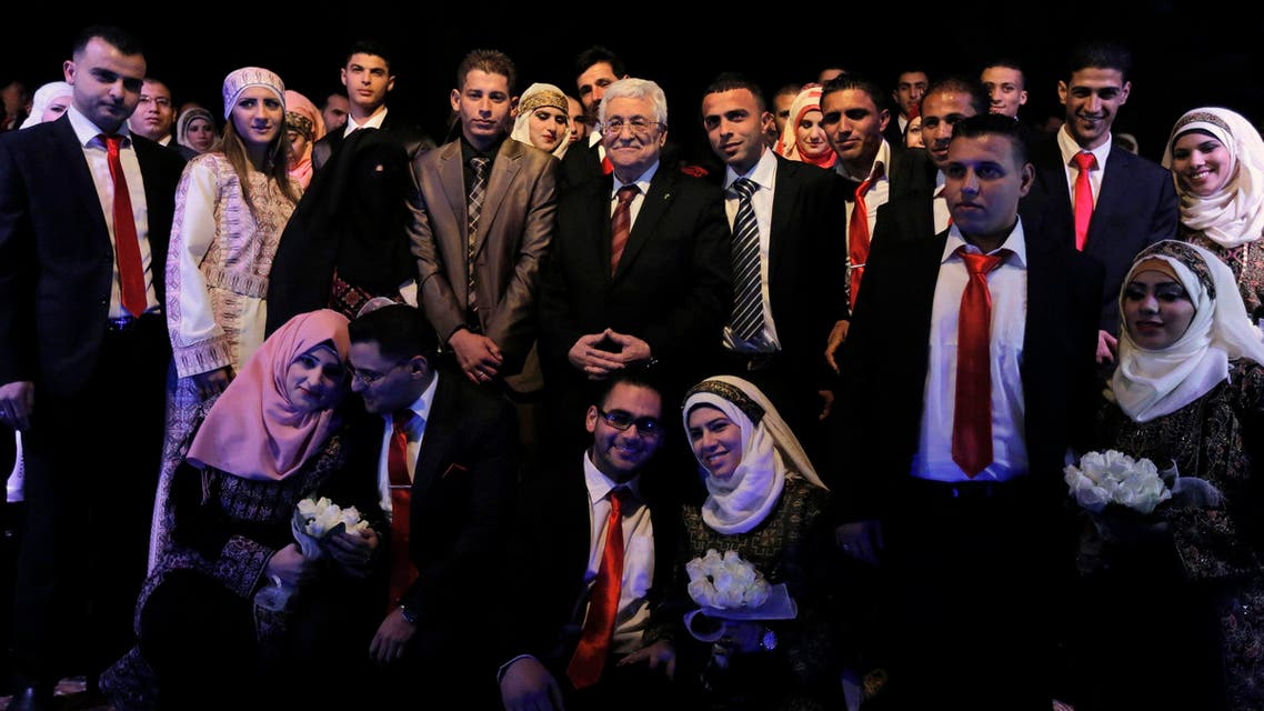 palestine wedding reuters
