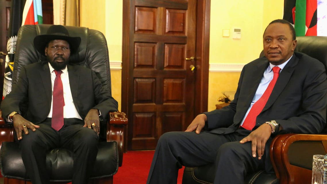 kenya and south sudan presidents reuters
