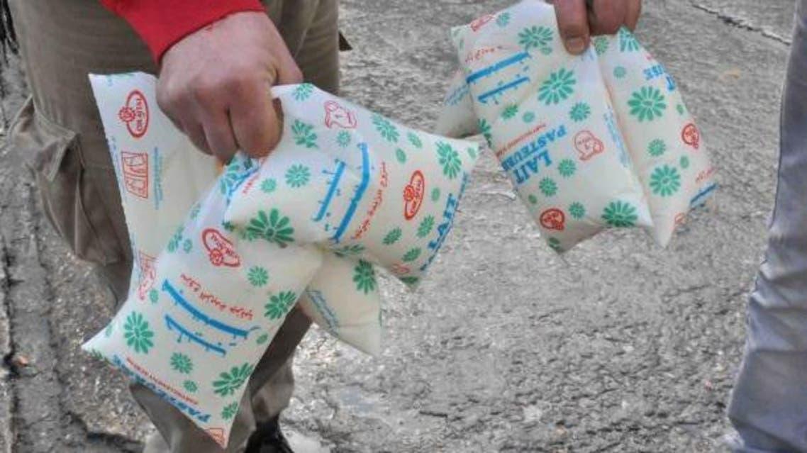 أزمة الحليب في الجزائر