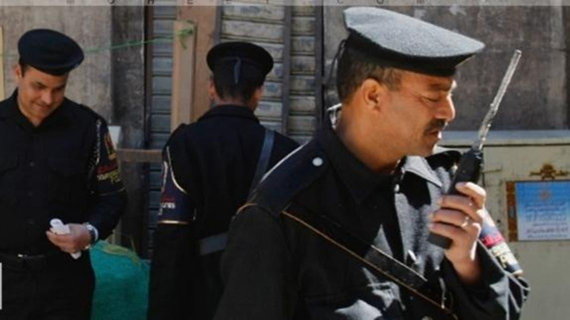 اعضاء من الشرطة المصرية