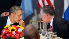 Obama, Jordan's King Abdullah to meet Feb. 14 in California