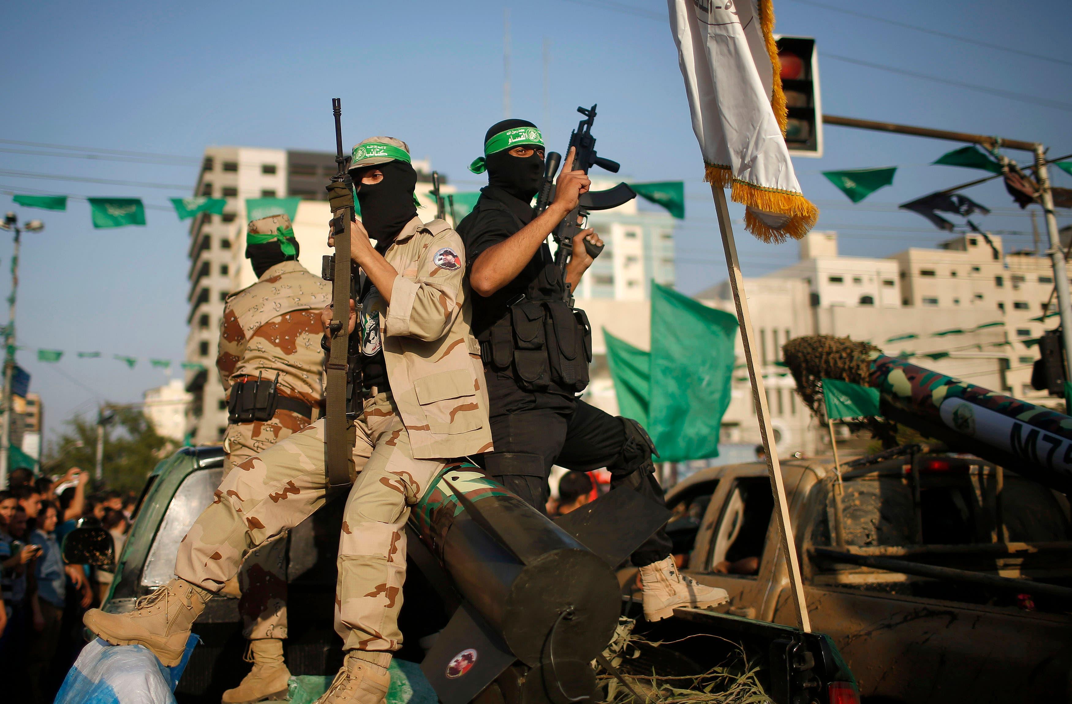 عناصر تابعة لحركة حماس