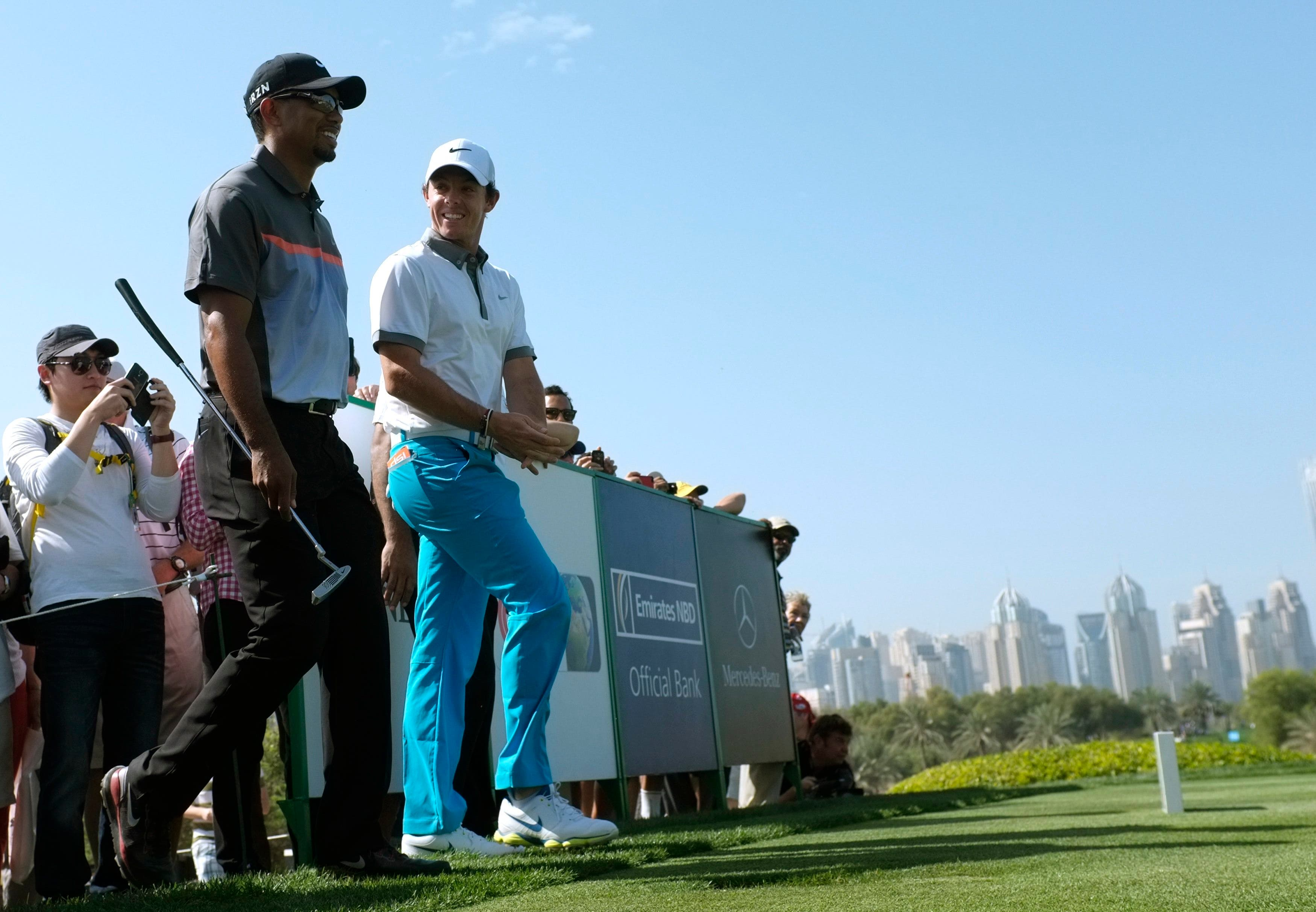 The 2014 Omega Dubai Desert Classic in Dubai