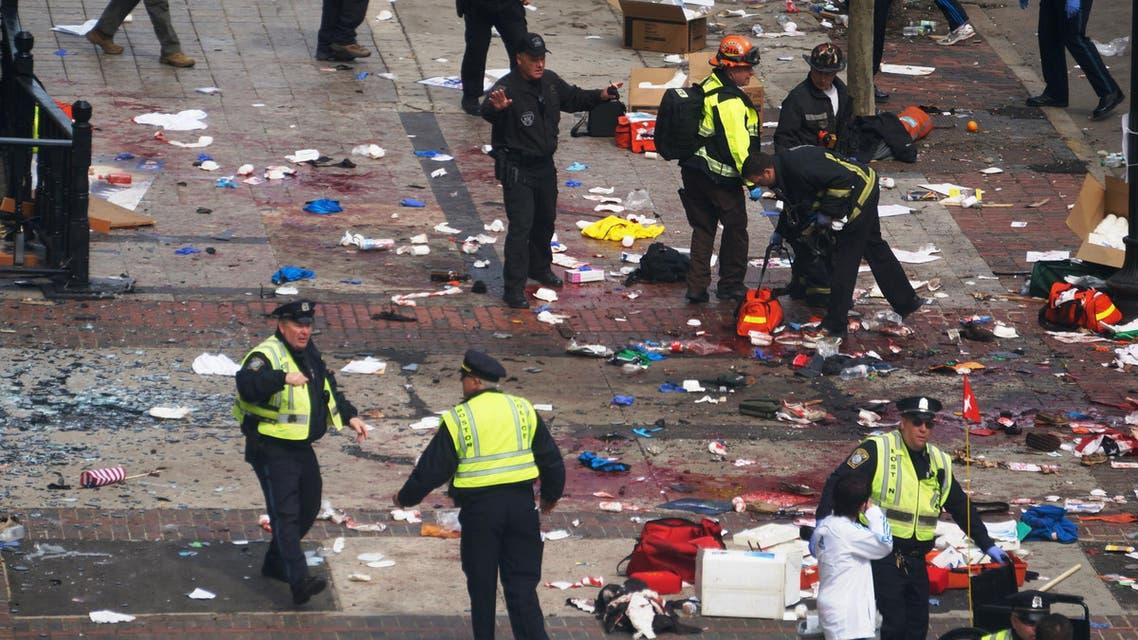 تفجير ماراثون بوسطن