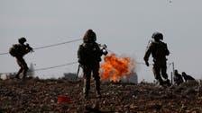 Ten Palestinians shot in West Bank, medics say