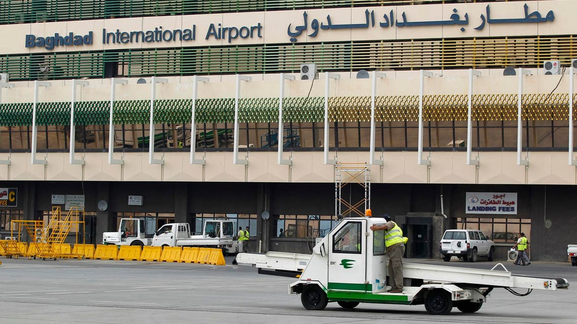 baghdad airport reuters