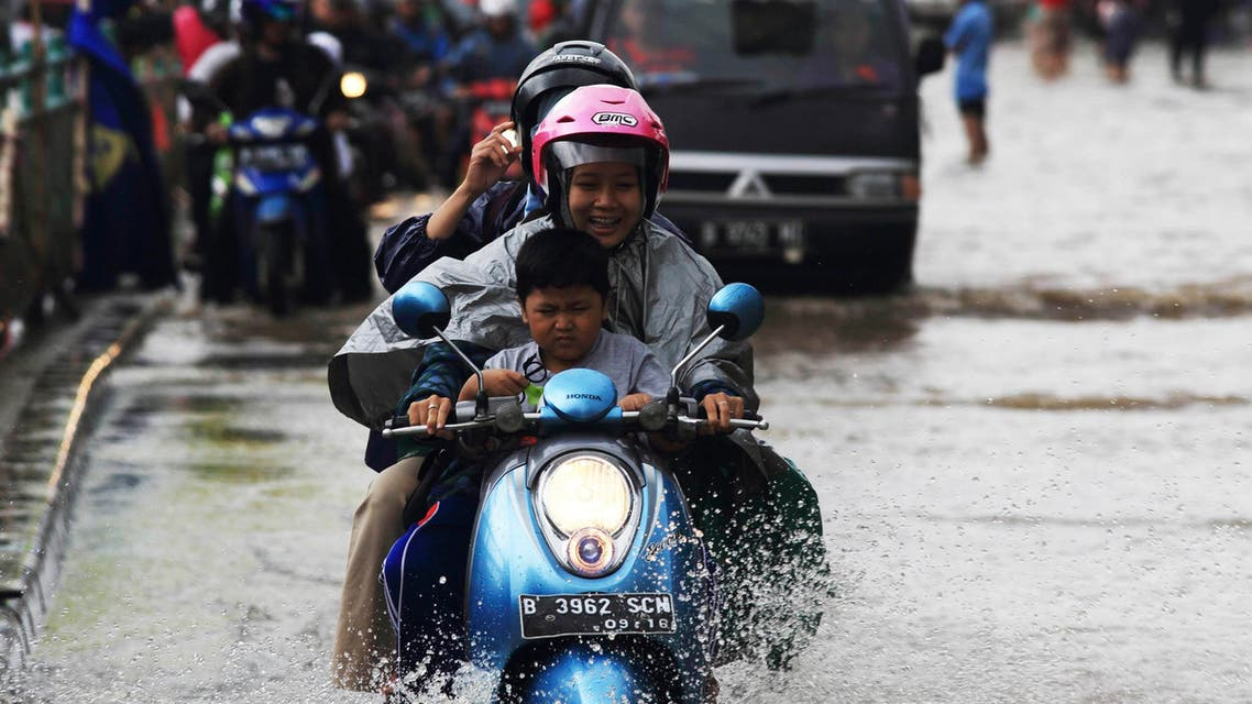 Water, water, everywhere in Jakarta