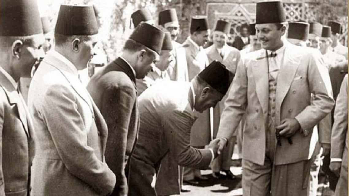 King Farouk pictured in the late 1930's (Photo courtesy of Magda Malek egyptianroyalty.net)