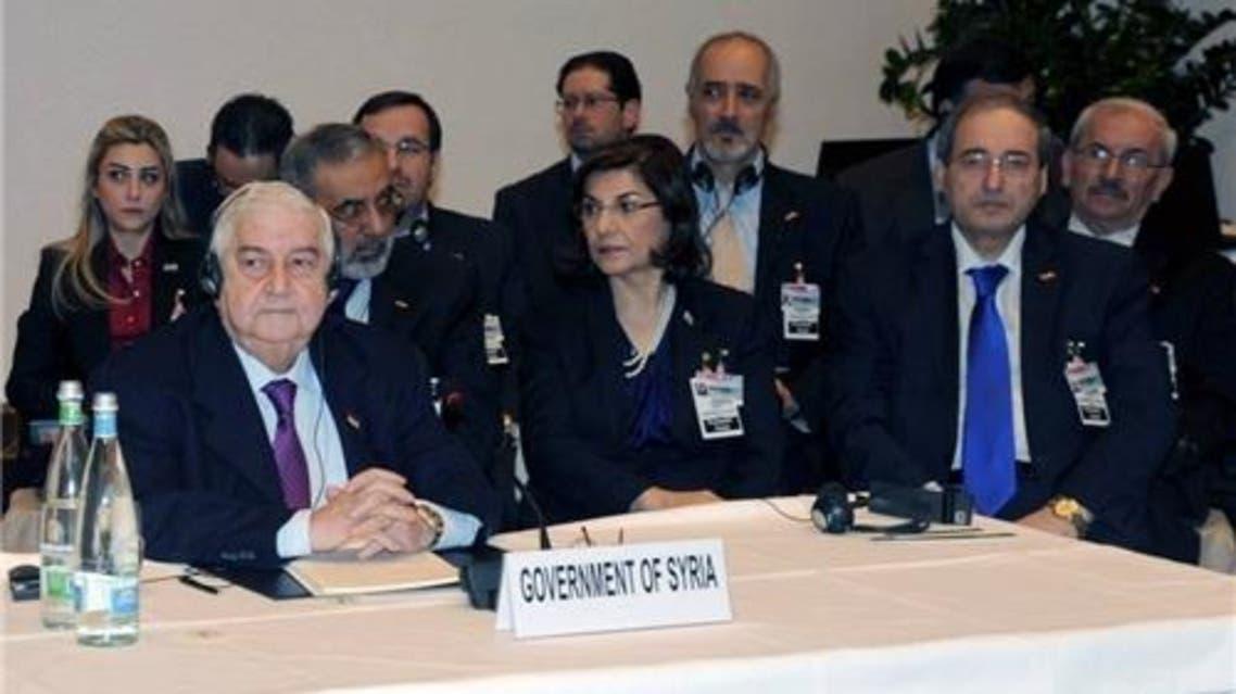 وفد النظام السوري الى جنيف