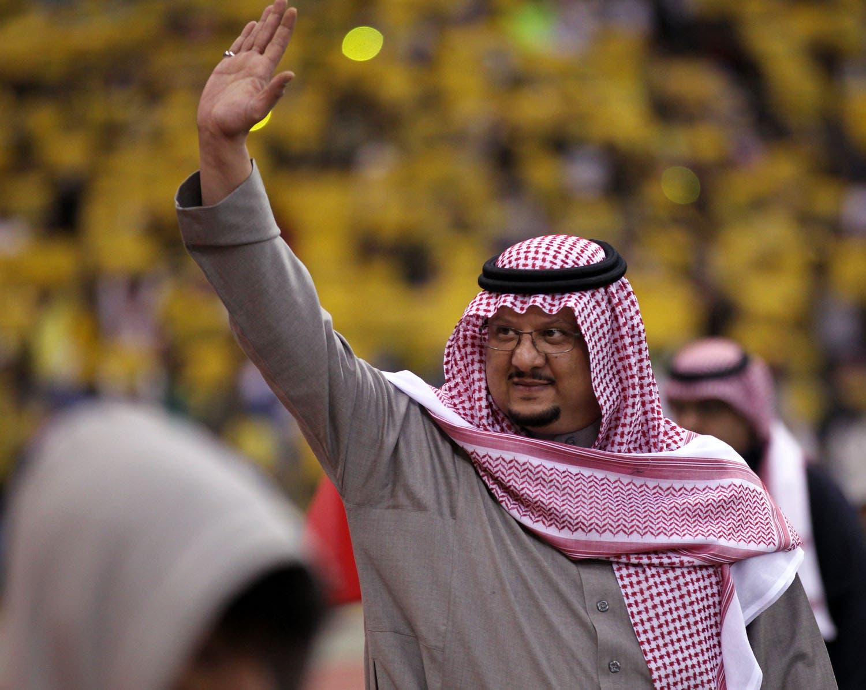 رئيس نادي النصر الأمير فيصل بن تركي