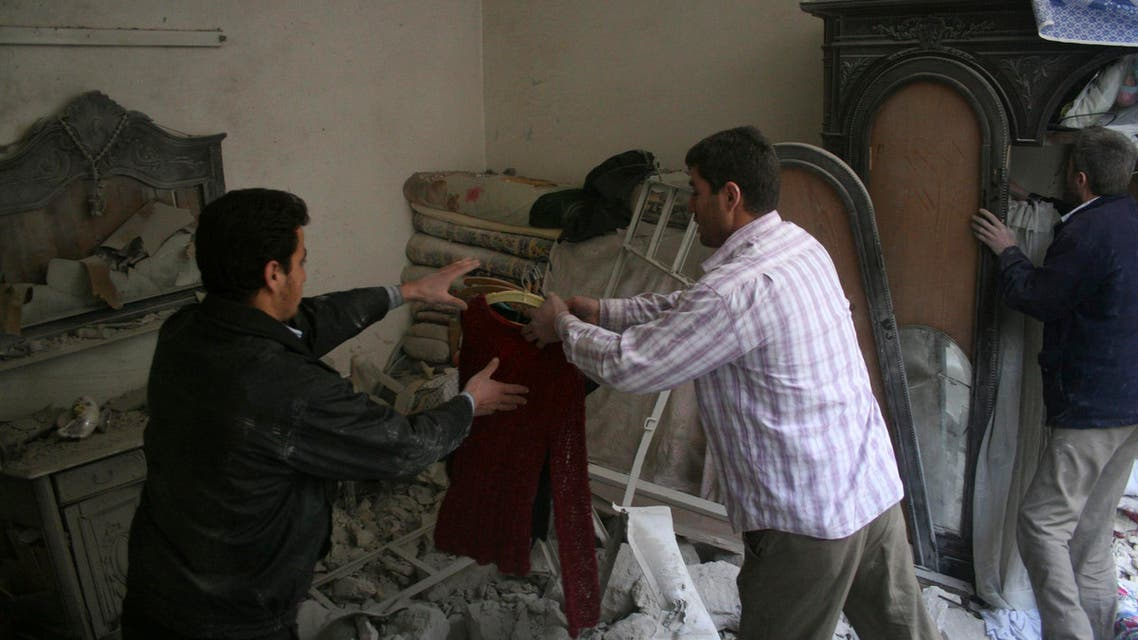 Aleppo residents devastated after shelling