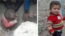Syrian 'miracle baby' seen in video after dramatic rescue from rubble