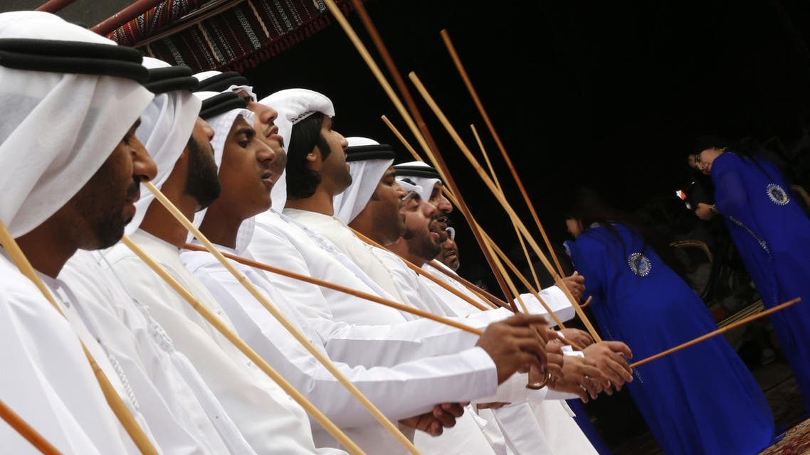 Camel festival in the UAE