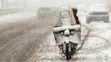 Heaviest snowstorm in 50 years blankets northern Iran