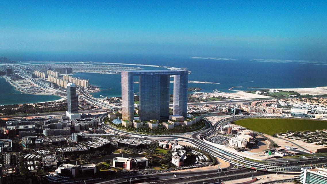 Dubai Pearl is a 20 million square feet mixed-use scheme overlooking the Palm Jumeirah. (Photo courtesy: Dubai Pearl)