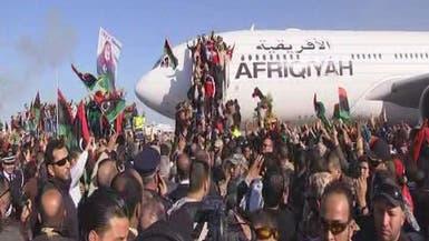 استقبال حافل لمنتخب ليبيا الفائز بكأس أمم إفريقيا