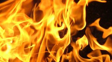 مدني جدة يسيطر على حريق باب شريف