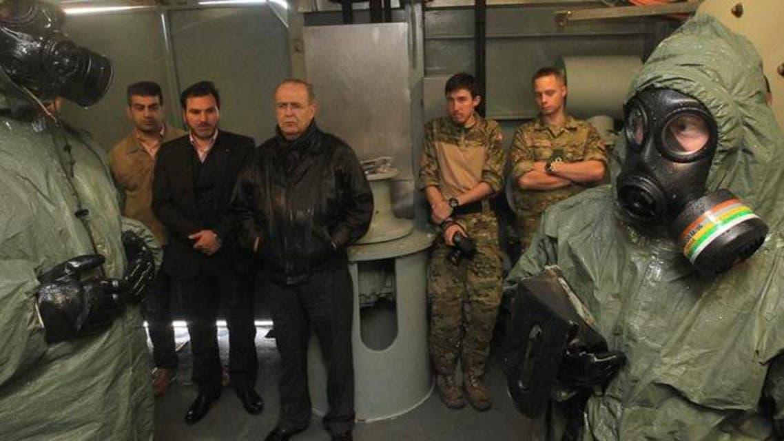 سلاح شيميايي سوريه
