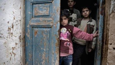 يونيسف: 1100 طفل يعانون سوء تغذية بالغوطة الشرقية