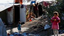 Syrian refugees, fleeing barrel bombs, stuck at Turkish border