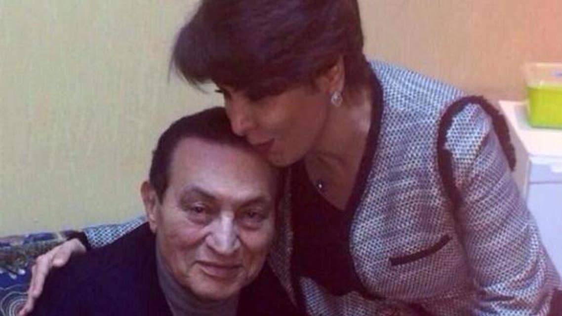 فجر السعيد مع حسني مبارك