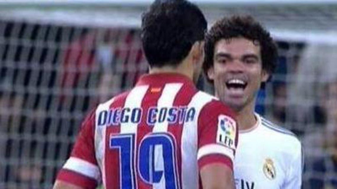 "بيبي ""يسخر"" من دييغو كوستا"