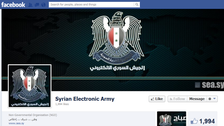 Syrian group claims to hack Facebook domain
