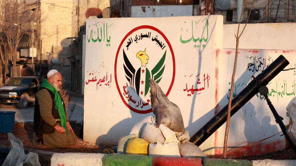 FSA Reuters Syria