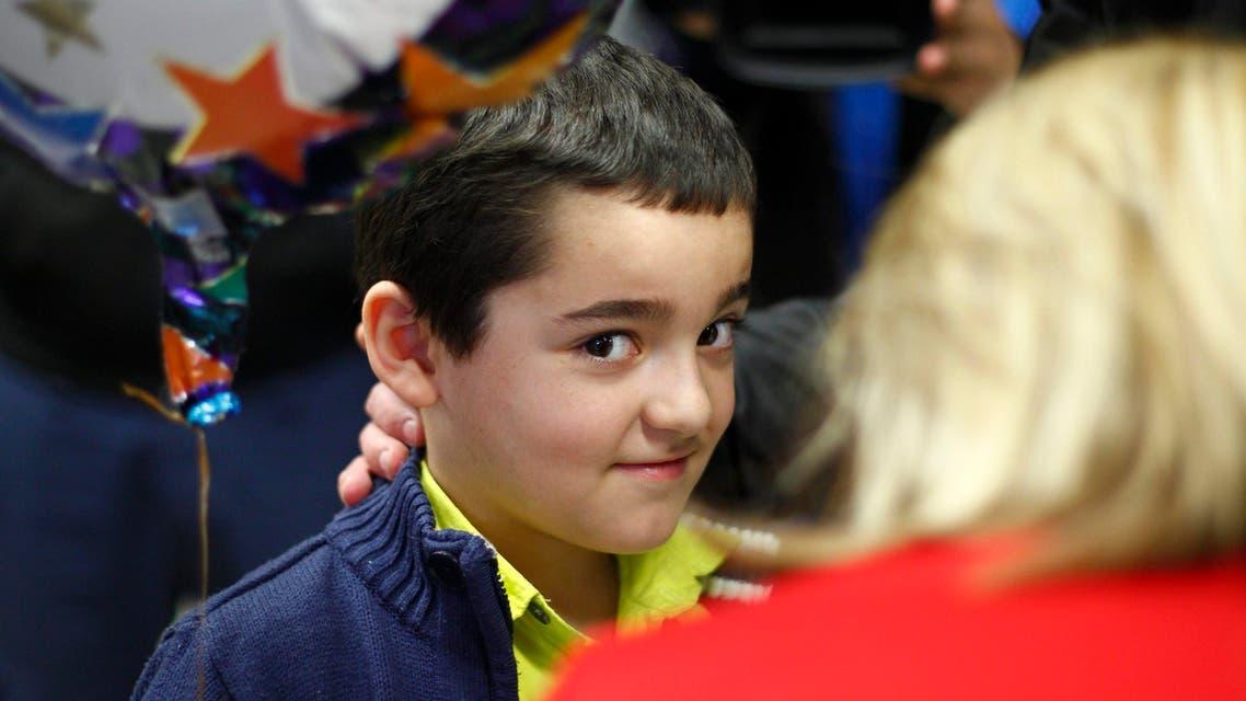 Syrian child survivor in Lampedusa tragedy