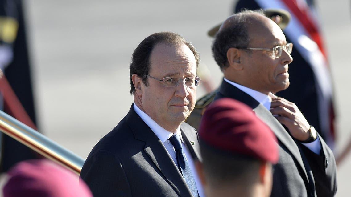 فرانسوا هولاند في تونس