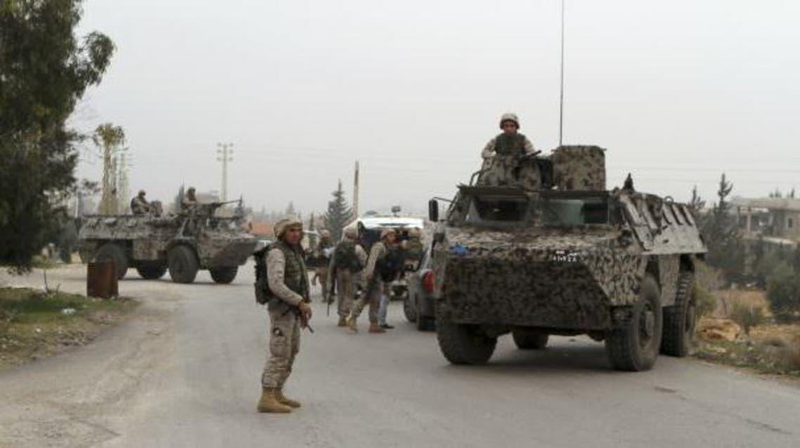 حاجز للجيش اللبناني في عرسال