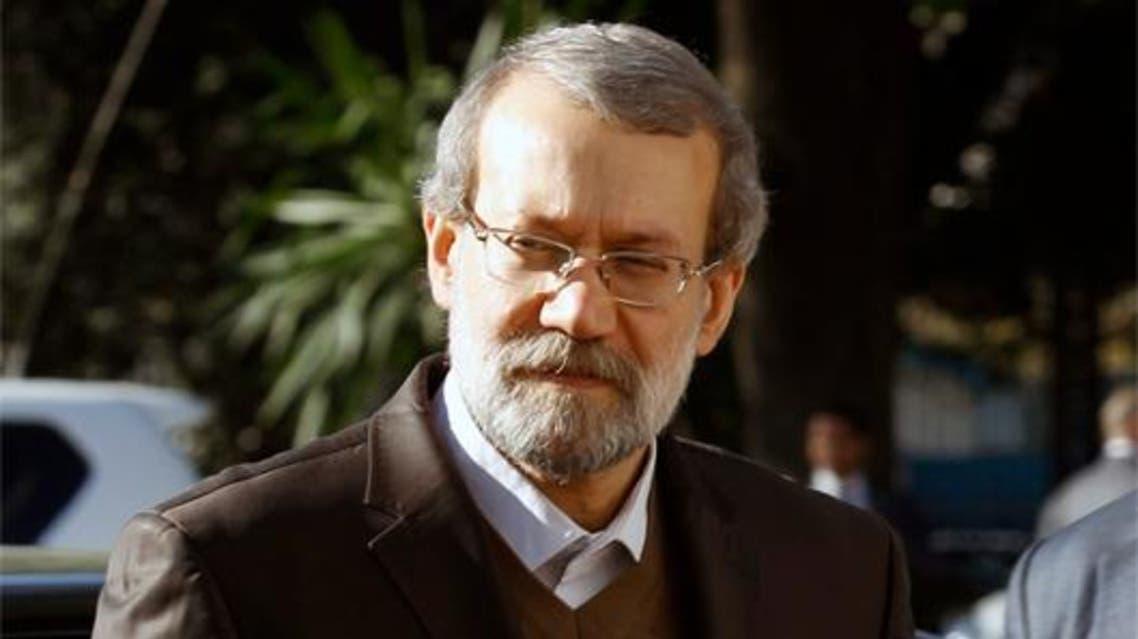رئيس الوفد الإيراني علي لاريجاني