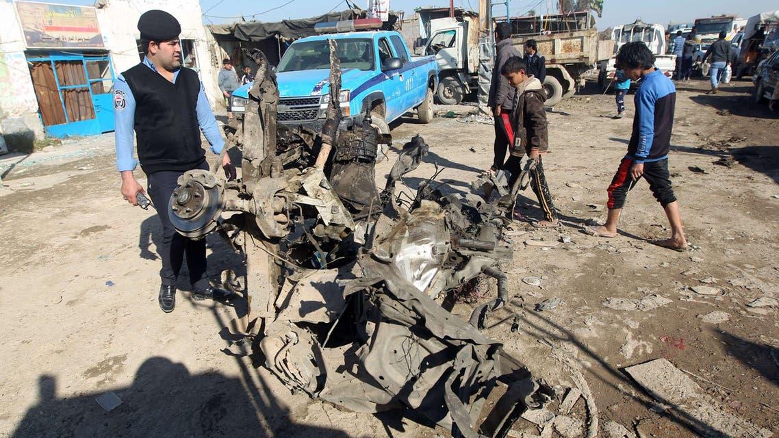 Baghdad: after the blast