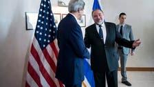 Israel hawk Lieberman champions Kerry peace efforts