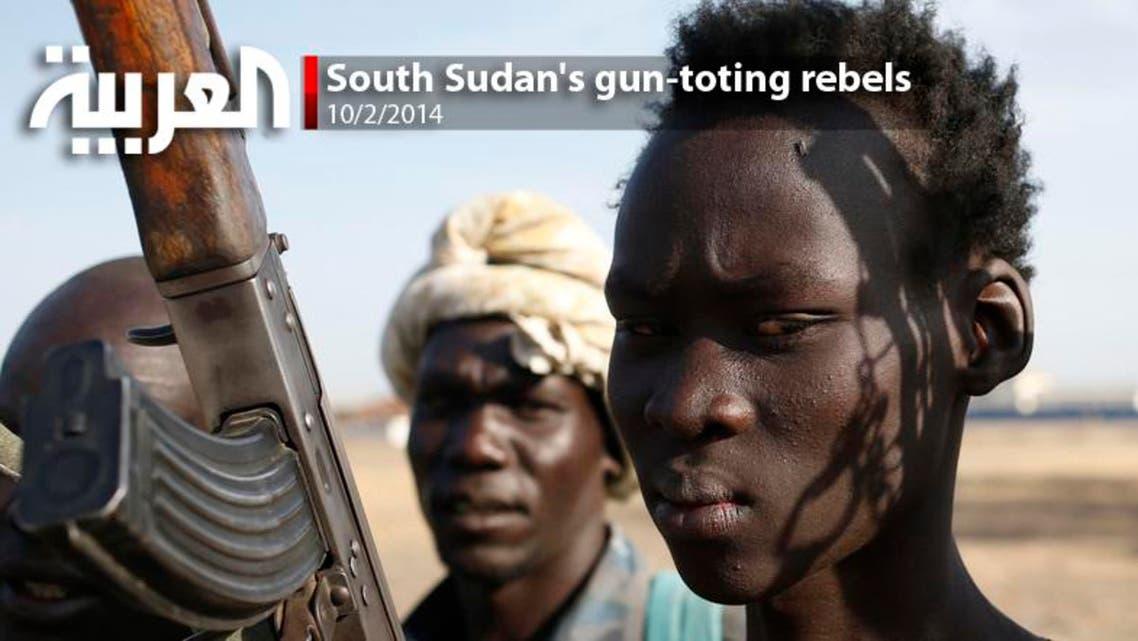South Sudan's gun-toting rebels