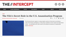 The Intercept goes live with focus on NSA leaks