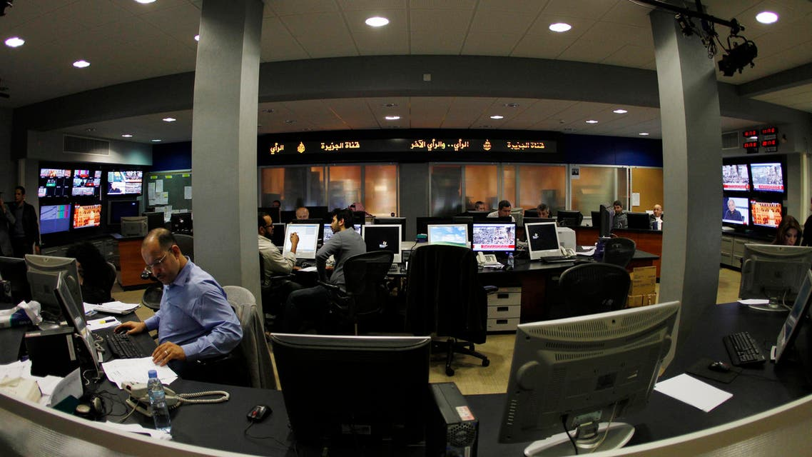 al jazeera offices reuters
