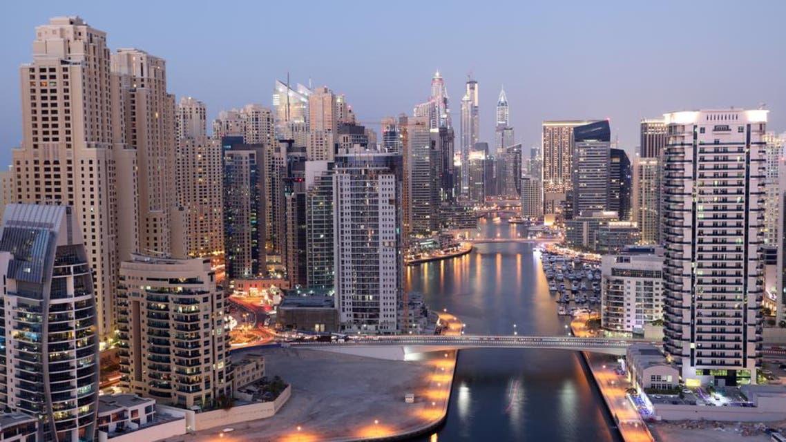 A general view of Dubai Marina. (Shutterstock)