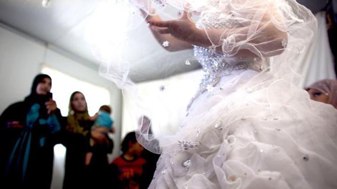bride coutesy Heidi Levine/SIPA/AP