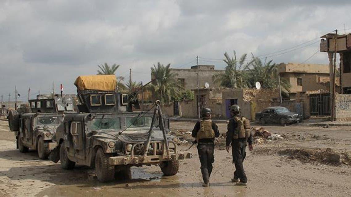 قوة عسكرية من الجيش العراقي في الرمادي