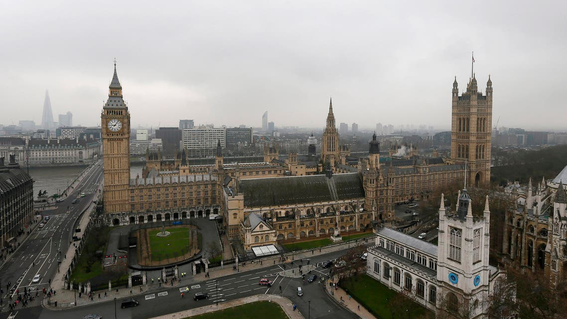 The Houses of Parliament are seen in central London March 19, 2013.