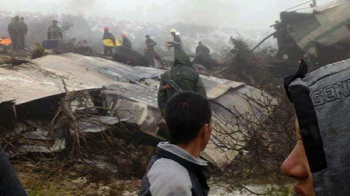 تحطم طائرة في الجزائر