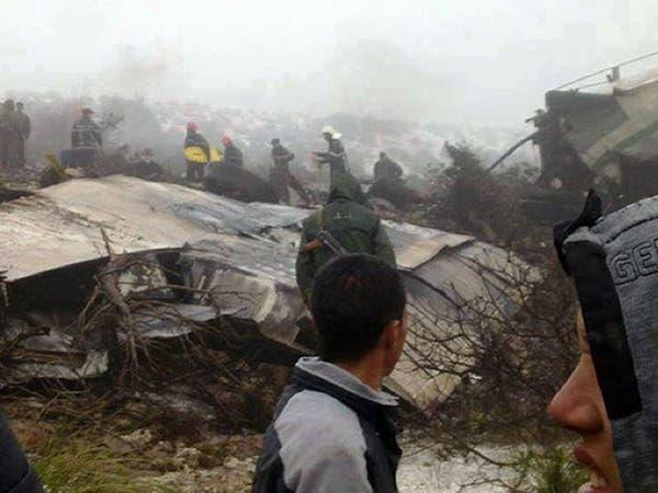 تحطم طائرة عسكرية بالجزائر بعد ساعات من سقوط مروحية