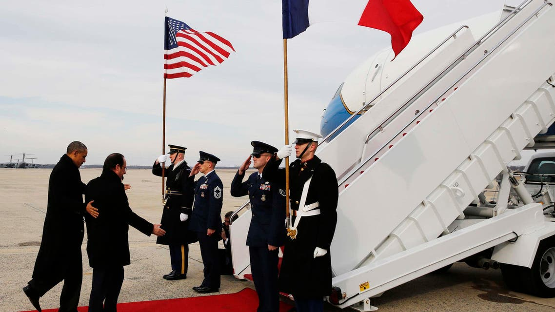 Fit for a president: Hollande visits the U.S.