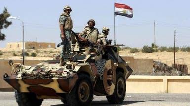 جرح ضابط بالجيش المصري ومجندين في انفجار عبوة ناسفة