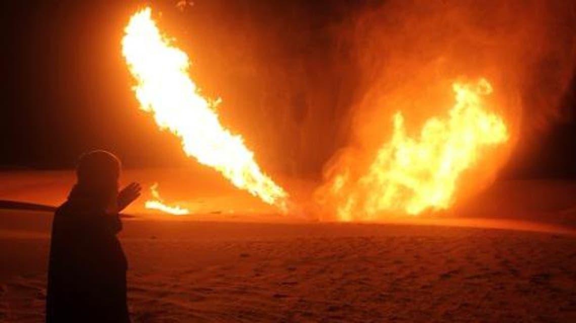 لخط أنابيب الغاز في سيناء