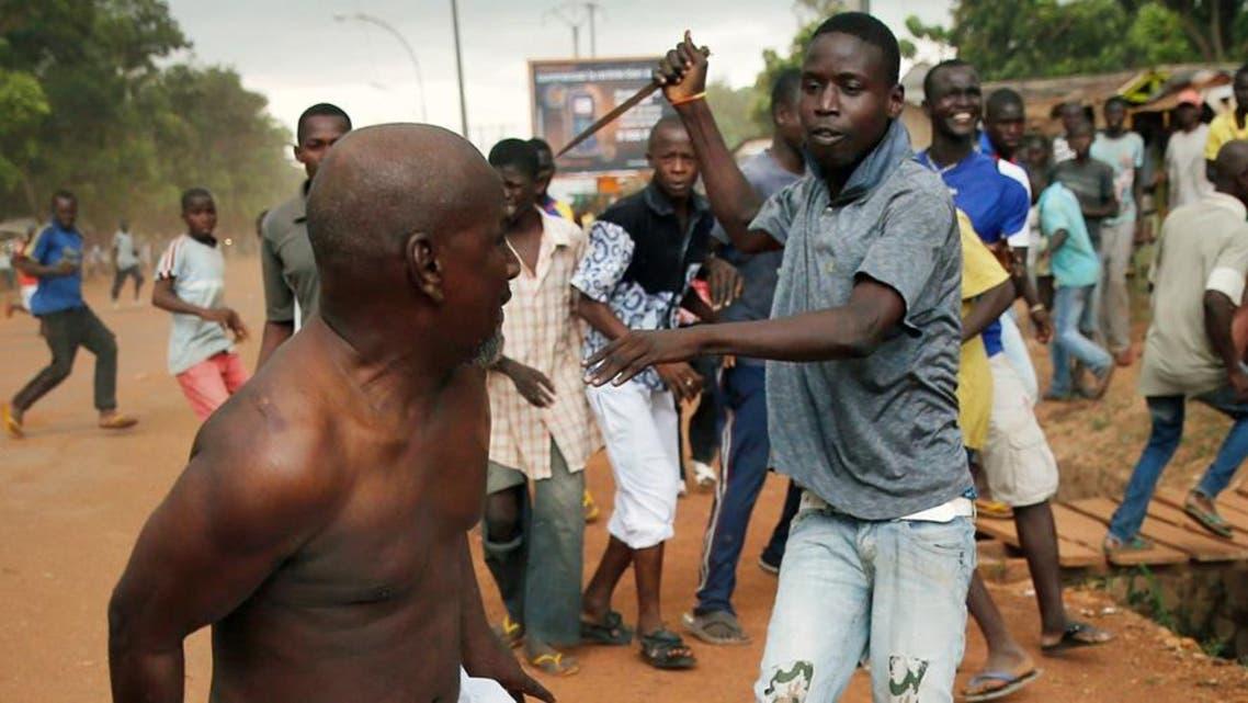 تطهير عرقي وسط إفريقيا