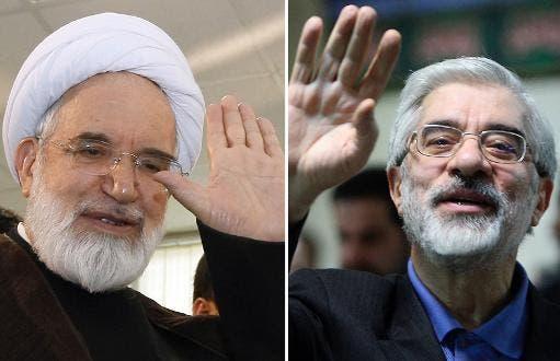 مير حسين موسوي ومهدي كروبي