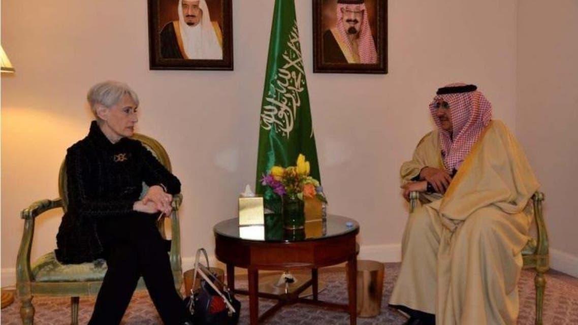 الأمير محمد بن نايف خلال استقباله شيرمان