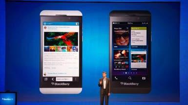 بلاك بيري تستحوذ على 0.6% من سوق الهواتف الذكية